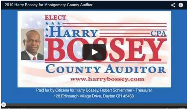 Harry Bossey Media 2010 Campaign